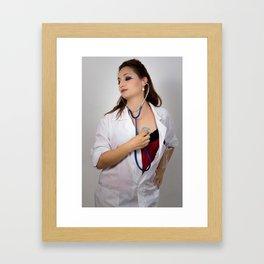 Tachycardia Framed Art Print