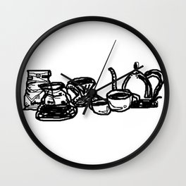 Coffee Is My Friend Wall Clock