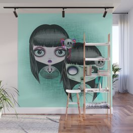 Zombie Doll The Dark Side Wall Mural