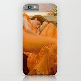 Frederic Leighton's Flaming June iPhone Case