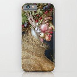Giuseppe Arcimboldo Summer iPhone Case