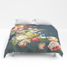 Floral Tribute to Louis McNeice Comforters