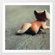 Fox Tail Art Print