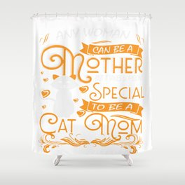 cat lady gifts unicorn cute vintage retro punch love style Shower Curtain