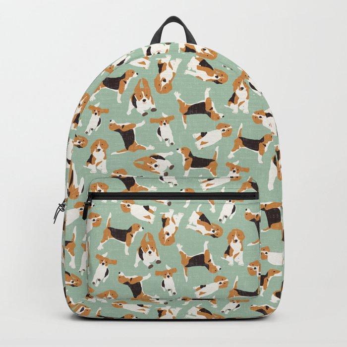 beagle scatter mint Backpack