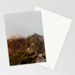 Pico Arieiro Mountain Top Trail in Madeira Stationery Cards