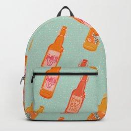 Kombucha Bottles - Mint Palette Backpack