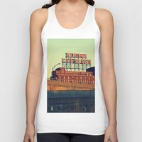 montreal Tank Tops featuring montreal five rose  by sylvie demers