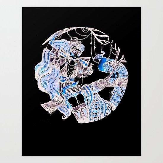 Harlequin Series 6 Art Print