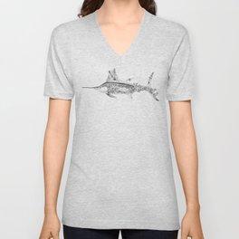 Fisherman Marlin Unisex V-Neck