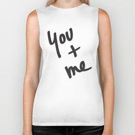 You and Me Biker Tank