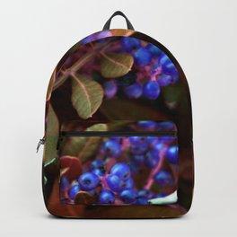 Alien landscape autumn berry surreal plants Backpack