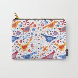 Birds in a Garden Carry-All Pouch