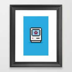 PixelMonsterMec Framed Art Print