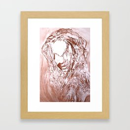 Relief Framed Art Print