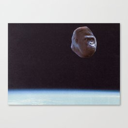 Still Gorilla Canvas Print