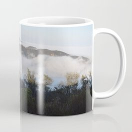 Marine Layer Mist Rising Through Topanga Canyon Looking South Coffee Mug