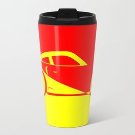 Fast Car Abstract Travel Mug