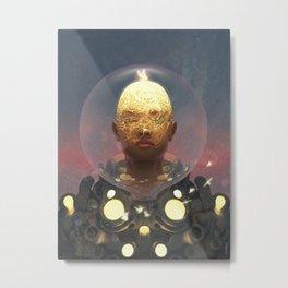 Companion Devices Metal Print