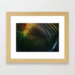 Shiny Cheap Rainbow Thrills Framed Art Print