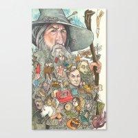 Gandalf's Beard Canvas Print
