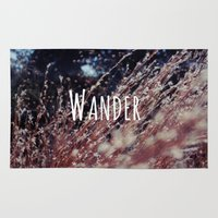 wander Area & Throw Rugs featuring Wander by SKCELE