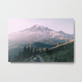 Mt. Rainier National Park Metal Print