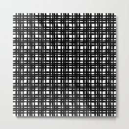 kariran (black/white) Metal Print