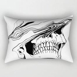 Skull (Liquify) Rectangular Pillow