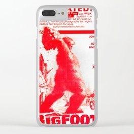 Bigfoot Clear iPhone Case