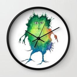 Squaglascrimpp Wall Clock