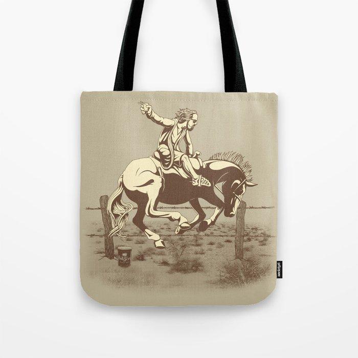 Dude Ranch Tote Bag