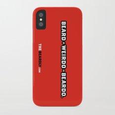 BEARD + WEIRDO = BEARDO. Slim Case iPhone X