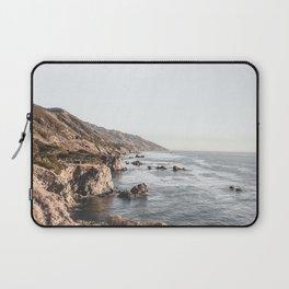 Big Sur   Monterey California Surfers Paradise Ocean Beach Landscape Wanderlust Photograph Laptop Sleeve