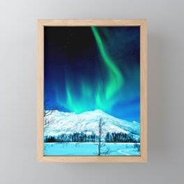 Aurora BorealiS Framed Mini Art Print