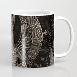 Anubis - Egyptian God Sepia Coffee Mug