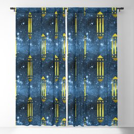 Atlantis Power Symbol Blackout Curtain