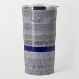 Denim with shreds Travel Mug