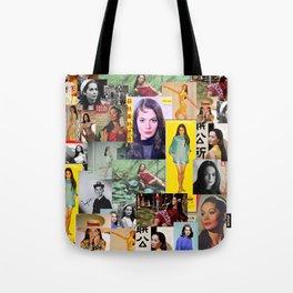 Nancy Kwan, Original Slaysian. Tote Bag