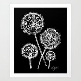 White Flower 21 Art Print