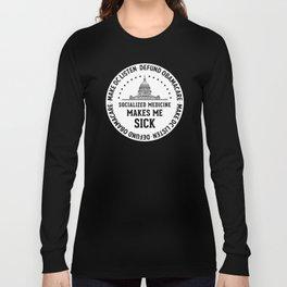 Make DC Listen Long Sleeve T-shirt