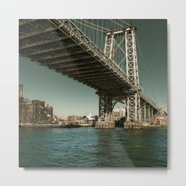 Williamsburg Bridge Metal Print