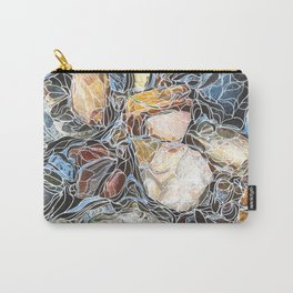 River Rocks #3 Carry-All Pouch