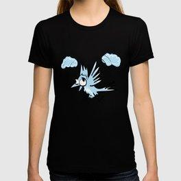Idiot fliying bird T-shirt