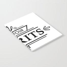 Lift Your Spirits Notebook
