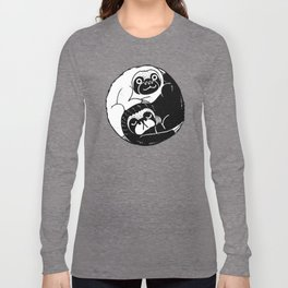 The Tao of Sloths Long Sleeve T-shirt