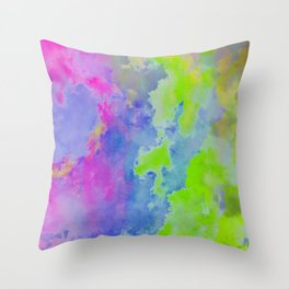 Dreamscapes [cloud's division] Throw Pillow