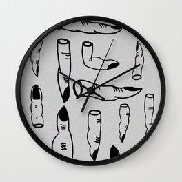 (yes) nail art Wall Clock