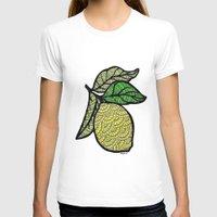 lemon T-shirts featuring Lemon  by Kris LeGates