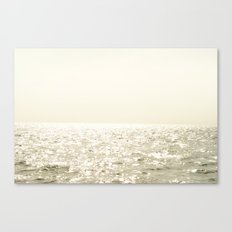 Sea and Sky Ombre Canvas Print